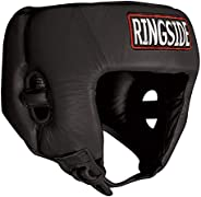 Ringside Competition-Like Boxing Muay Thai MMA Sparring Head Protection Headgear without Cheeks