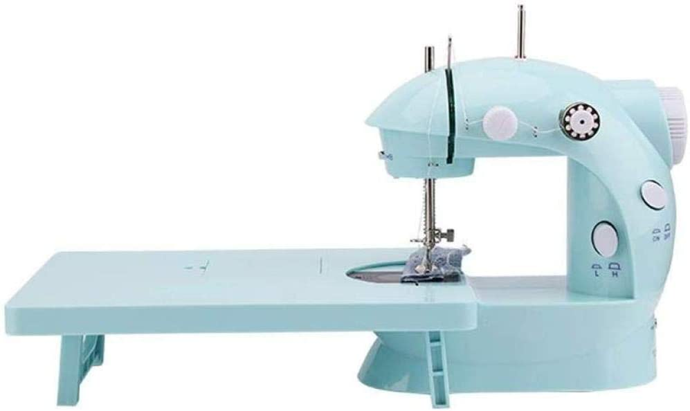 Yuaer Máquina de coser portátil, pequeña máquina de coser portátil ...
