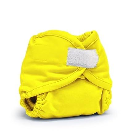 Rumparooz pañales de tela cubierta, Sol Aplix, recién nacido Color: Sol Aplix Tamaño