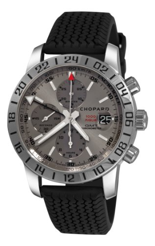 Price comparison product image Chopard Men's 168992-3022 Mille Miglia GMT 2009 Chronograph Grey Dial Watch