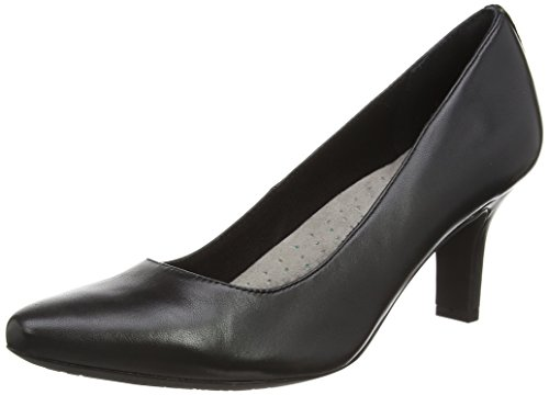 Plain Closed Women's Shasmeen Black Toe Rockport Pumps Black ZxEwHqHta