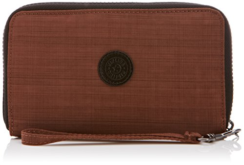 Kipling Women's Olvie Wristlet Wallet Dazz Brown