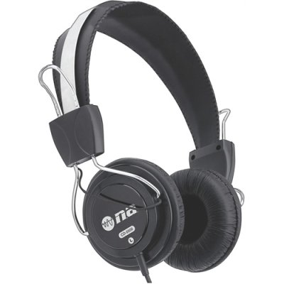 Nippon Cd5500 Full Size Stereo Headphones Padded Ear Pads
