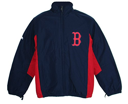 Majestic Boston Red Sox 3X-Large 3XL Full Zipper Jacket - 2 Tone Navy ()