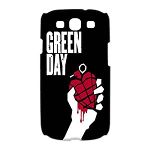 Samsung Galaxy S3 I9300(3D) Phone Case for Green Day pattern design
