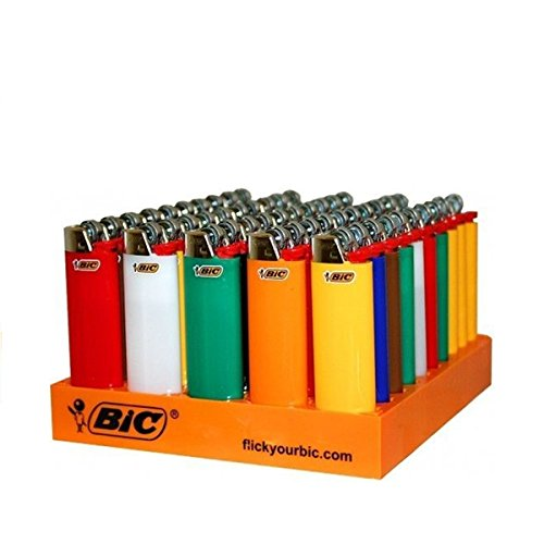 Mini Lighters Bic (BIC Classic Lighters Cigar Cigarette MAXi Lighter Mini Size (8))