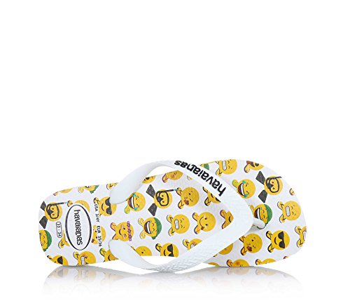 blancas con estampado Emojis Mood blanches imprimées Émojis Mood