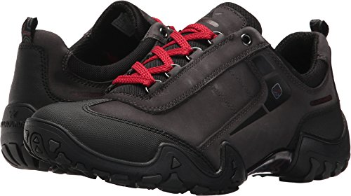Allrounder by Mephisto Women's Fina TEX Black Rubber/Zinc G Nubuck 40 M EU by Allrounder by Mephisto