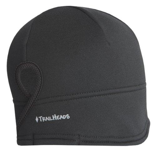 (TrailHeads Runner's Ponytail Beanie for Women | Contoured Fleece Winter Hat | Performance Beanie)