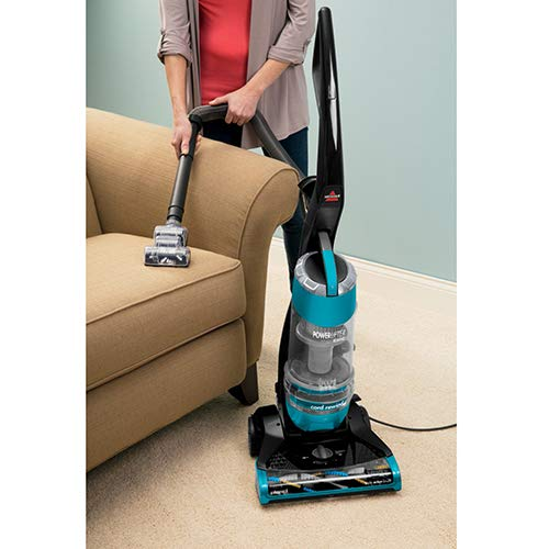 Bissell Powerlifter Upright Vacuum with Multi-Cyclonic Triple Action Roll