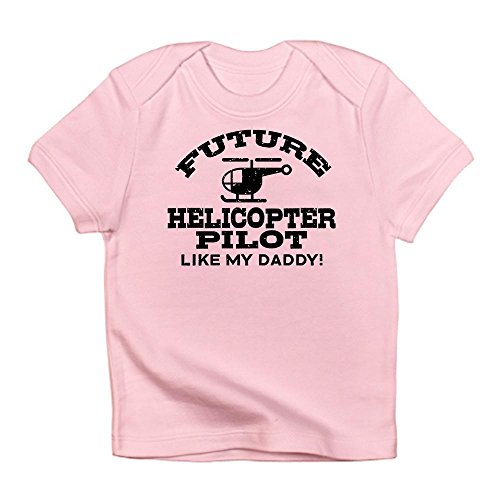 Helicopter Future Pilot - CafePress - Future Helicopter Pilot Infant T-Shirt - Cute Infant T-Shirt, 100% Cotton Baby Shirt