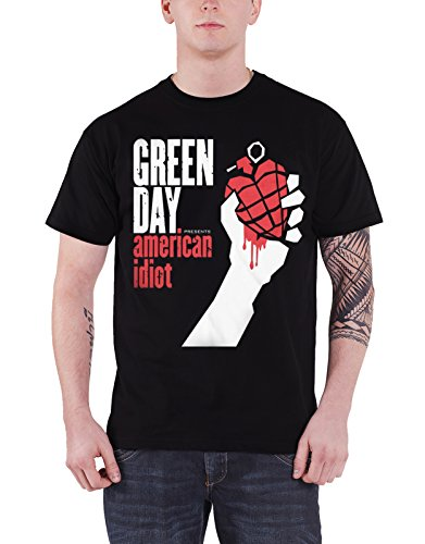 Nero T shirt Idiot American Green Uomo Day Da w40BqZq6