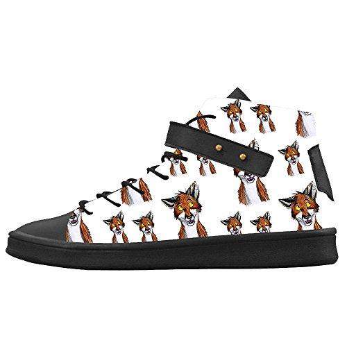 Women's Fox Le Shoes Scarpe Le Scarpe Canvas Le Custom Scarpe Dalliy aUxwHEq