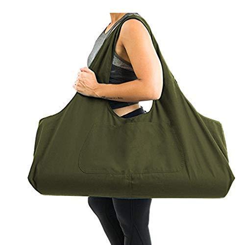 EUYOUZI Yoga Mat Storage Bag, Portable Yoga Mat Carrying Bag ...