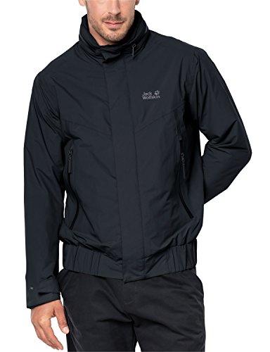 Jack Wolfskin Men's Brooklyn Blouson Jackets, Black, 3X-Large (Jack Ski Wolfskin Jacket Men)