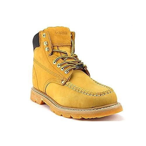 Eagle Men's 608 Heavy Duty Oil Resistant Non Slip Tall Work Boots