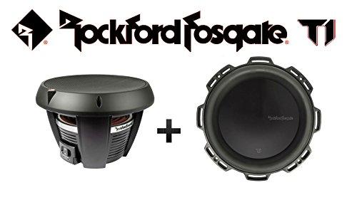 (Two Rockford Fosgate T1D4-12 12