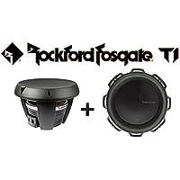 Two Rockford Fosgate T1D2-10 10 Power T1 2-Ohm DVC Subwoofers