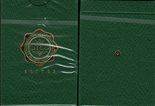 DMC Elites - Cartas de Juego de tamaño de póquer con Marca Verde USPCC Custom Limited