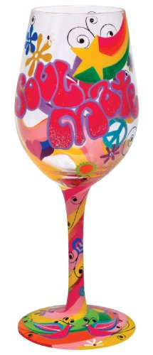 Martini Mate (Lolita Wine Glass Soul Mate, Valentine Retired - Wine Martini New Love GLS11-5516G)