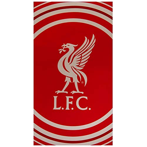 Liverpool FC Pulse Towel (One Size) (Red/White)