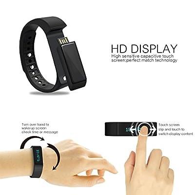 PLAY X STORE Sports Bracelet Bluetooth Smart Watch Activity Tracker WristWatch