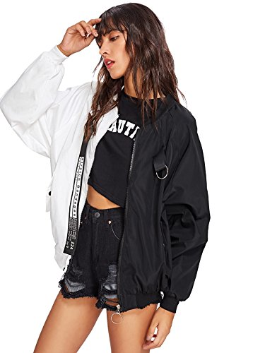 SweatyRocks-Womens-Casual-Lightweight-Color-Block-Bomber-Jacket