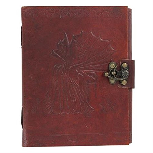 Wee Fay Fairy Locking Leather Spell Book by General Edge (Image #2)