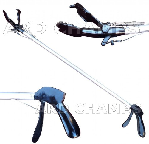 60'' Pro SNAKE TONGS Reptile Grabber Rattle Snake Catcher WIDE JAW Handling Tool by ARD CHAMPS INC.