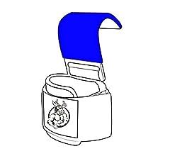 - Neopreno acolchado grueso de 8 mm Asegure su agarre y alcance sus metas con guantes de gancho de entrenamiento premium Ganchos de levantamiento de pesas Grip de DMoose Fitness revestimiento antideslizante resistente doble costura par