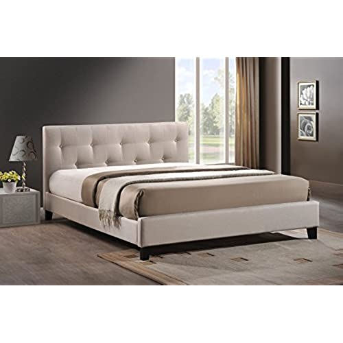 Modern Queen Bed Frame with Headboard: Amazon.com