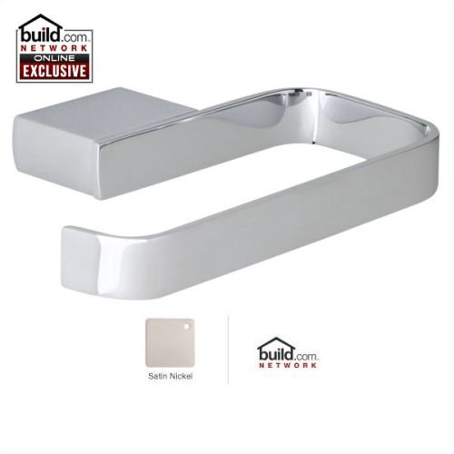 Rohl CA8 Caswell Single Post Toilet Paper Holder, Satin Nickel