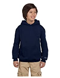 Champion Boys Big Boys Powerblend Eco Fleece Pullover Hoodie