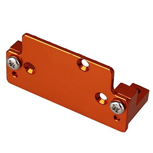 (Mxfans 180010 Orange Aluminum Alloy Servo Plate W/Servo Mount HSP 94180 RC1/10 Rock Crawler)