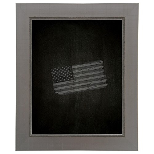 Rayne Mirrors American Made Rayne Silver Swift Blackboard/Chalkboard Exterior Size: 17 x 41 by Rayne Mirrors