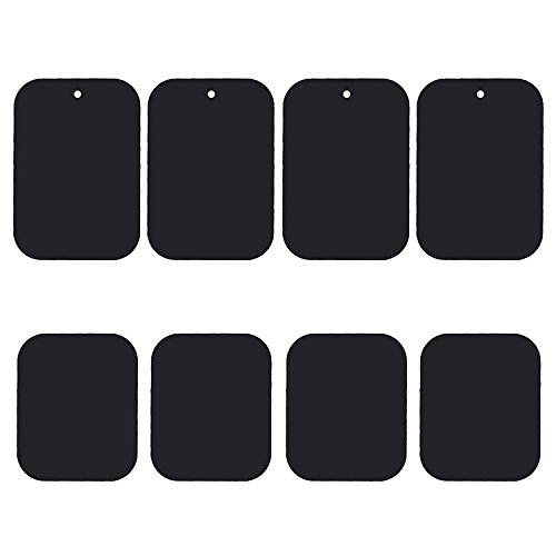 Uuustar Metal Plates for Magnetic Mount, 8PACK Metal Plates with Full Adhesive for Magnetic Car Mount Phone - Target Grande El