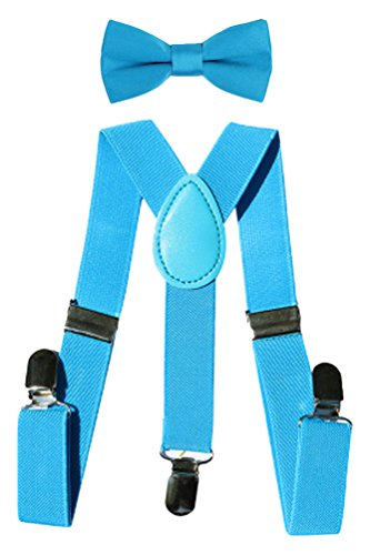 thick light blue suspenders - 8