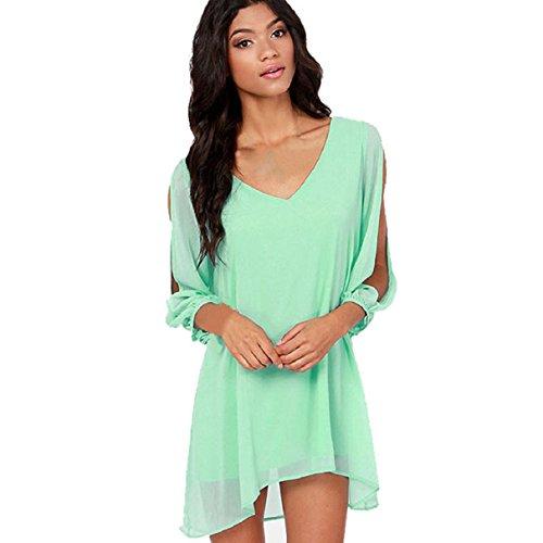 ABC® New Sexy Women Ladies Summer Casual Party Evening Short Mini Dress (XXL)