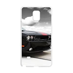 Samsung Galaxy Note 4 Cell Phone Case White Dodge Feku