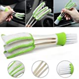 Debris Cleanup - Function Double Head Dust Cleaning Brush Shutter Window Blind Car Air Conditioning Vent Tool - Detritu Cleansing - 1PCs