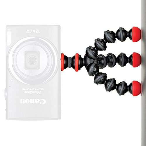 JOBY GorillaPod Magnetic Mini: A Portable, Compact Tripod with Magnetic Feet for Smartphones, Action Cameras or Point & Shoot Cameras up to 325 Grams