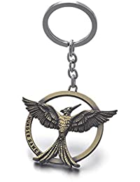 The Hunger Games Movie Catching Fire Mockingjay Metal Keychain Keyring