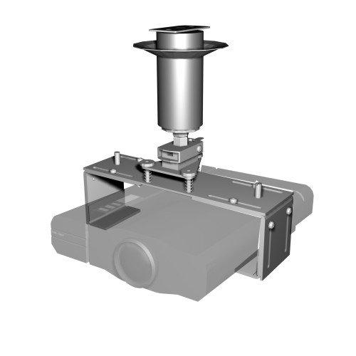 Suporte de Teto para Projetor Gaia GSP-104 - Prata