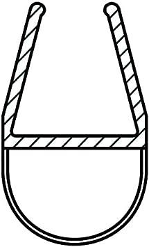 Micel-Vega. 18526 - Perfil baño mampara 8/10mm burbuja 2mt tra micel: Amazon.es: Bricolaje y herramientas