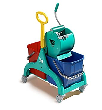 Carrito Limpieza profesional TTS Nick verde 30lt: Amazon.es: Industria, empresas y ciencia