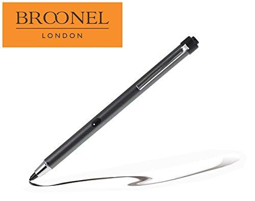 Broonel Metallic Grey Rechargeable Fine Point Digital Stylus for...