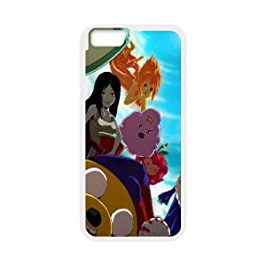 Printed Cover Protector iPhone 6s Plus 5.5 Inch Cell Phone Case White Adventure Time Zptfh Unique Design Cases
