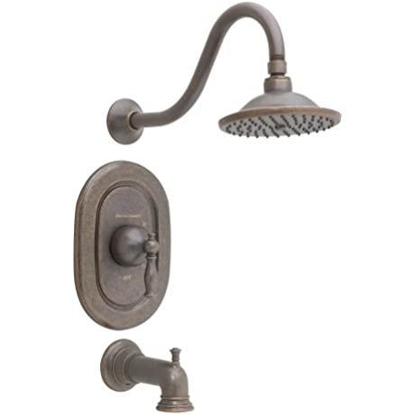 American Standard T440502 224 Quentin Pressure Balance Bath And Shower Trim Kit Oil Rubbed Bronze