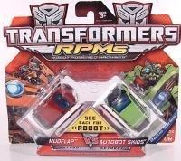 Transformer Movie 2 Mini Vehicles Battle Pack - Mudflap vs Autobot
