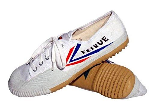 Feiyue - Zapatillas de artes marciales para hombre blanco blanco